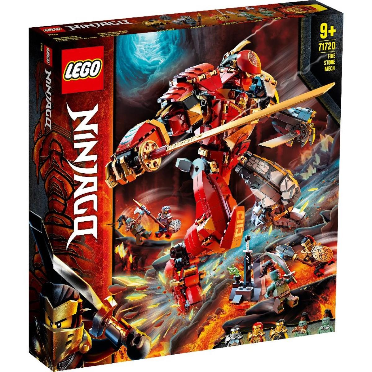 LEGO Ninjago Fire Stone Mech 71720 - Game On Toymaster Store