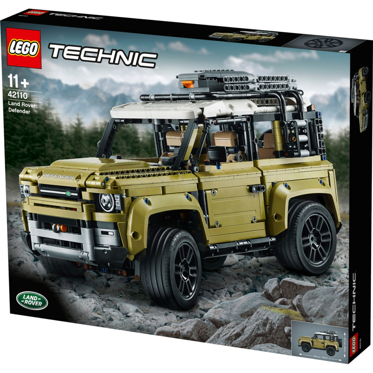 LEGO Technic Land Rover Defender 42110 - Game On Toymaster Store