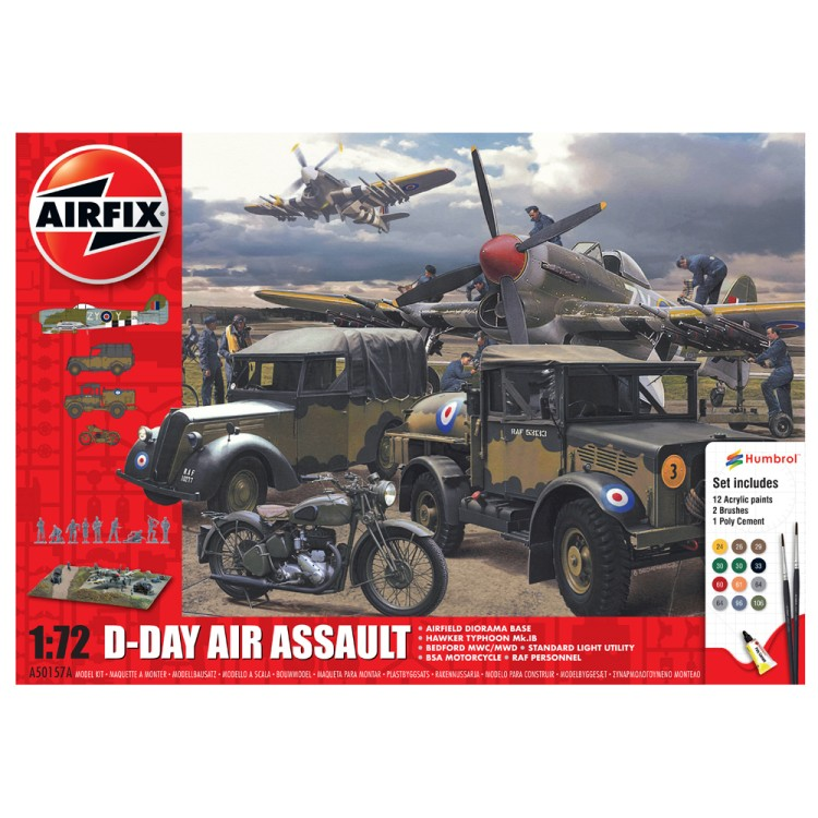 Airfix D-Day Air Assault Starter Set 1:72 A50157A