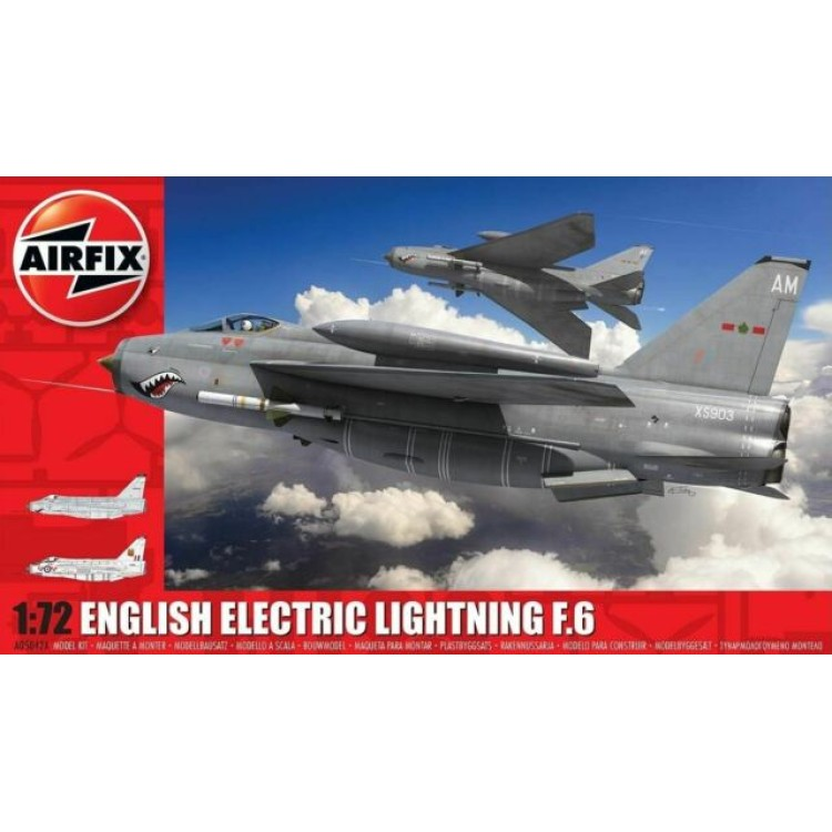 Airfix English Electric Lightning F.6 1:72 A05042A