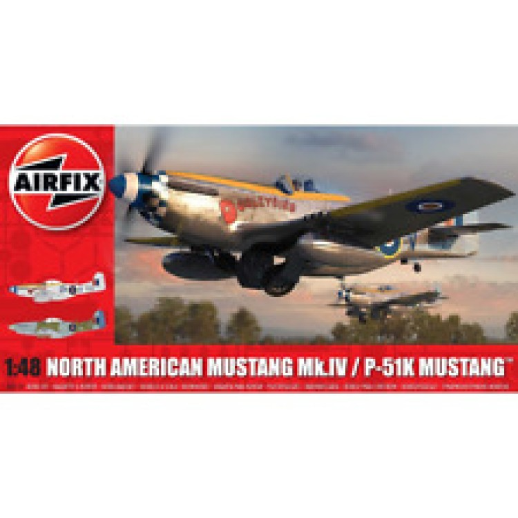 Airfix North American Mustang Mk.IV/P-51K 1:48 A05137