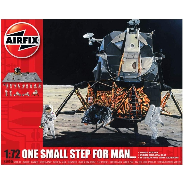 Airfix One Small Step For Man... Starter Set 1:72 A50106