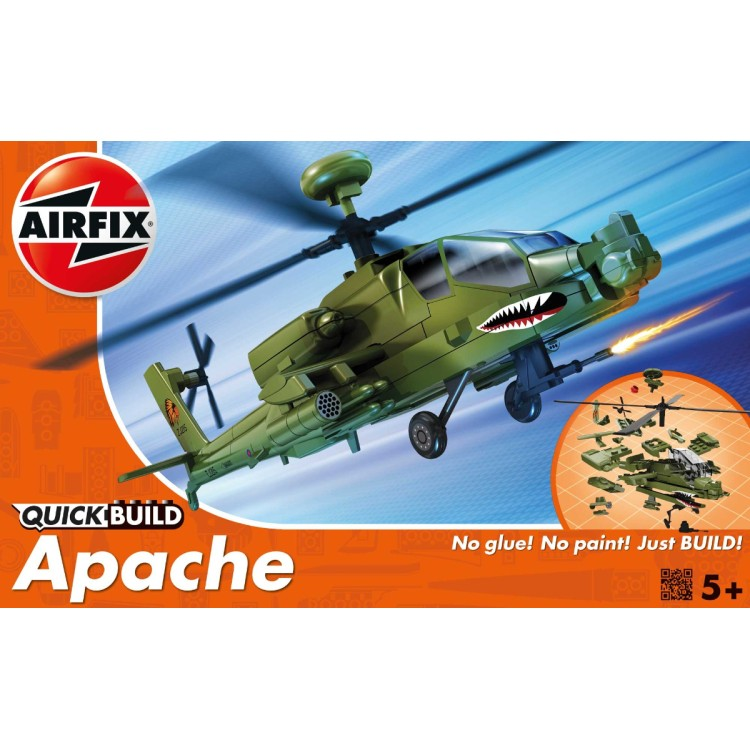 Airfix Quick Build Apache Helicopter J6004