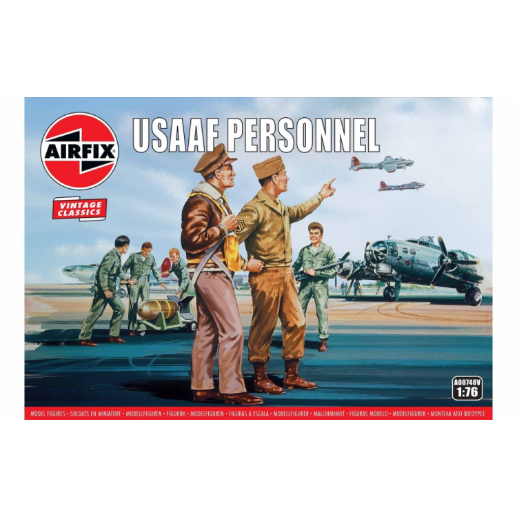 Airfix USAAF Personnel 1:76 A00748V