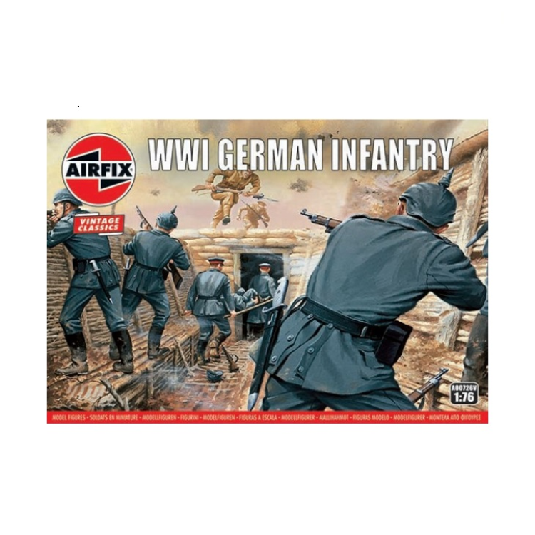 Airfix WWI German Infantry 1:76 A00726V