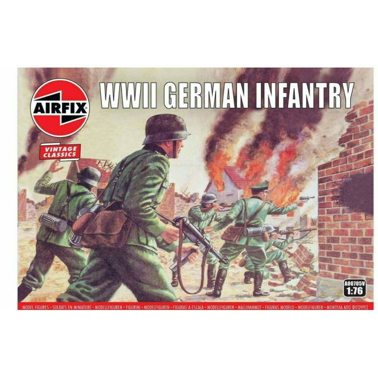 Airfix WWII German Infantry 1:76 A00705V