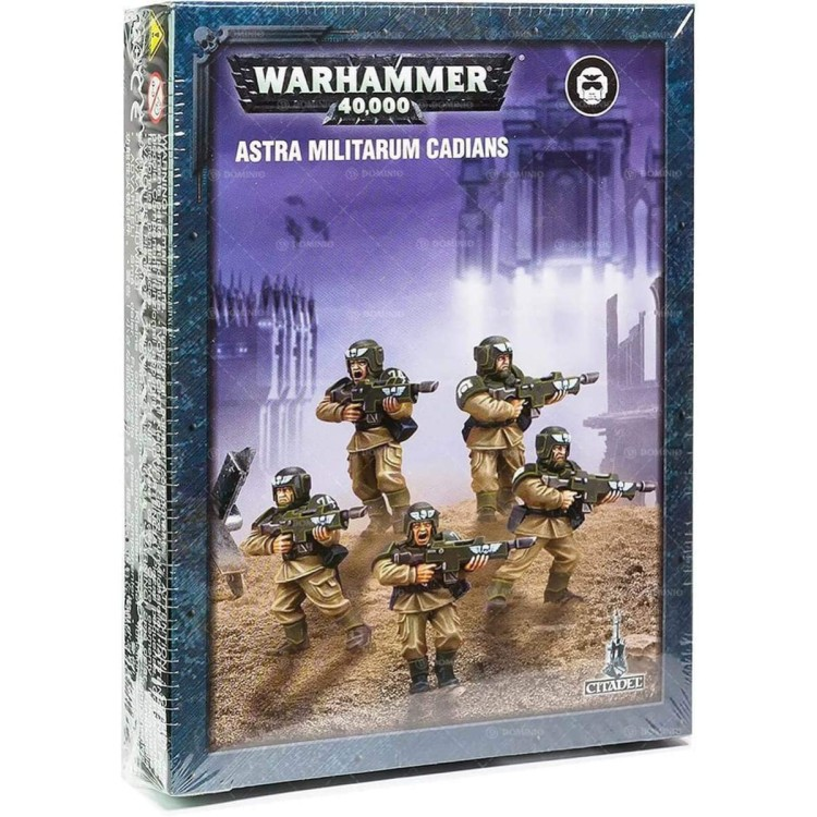 Astra Militarum Cadians Easy To Build Small Box