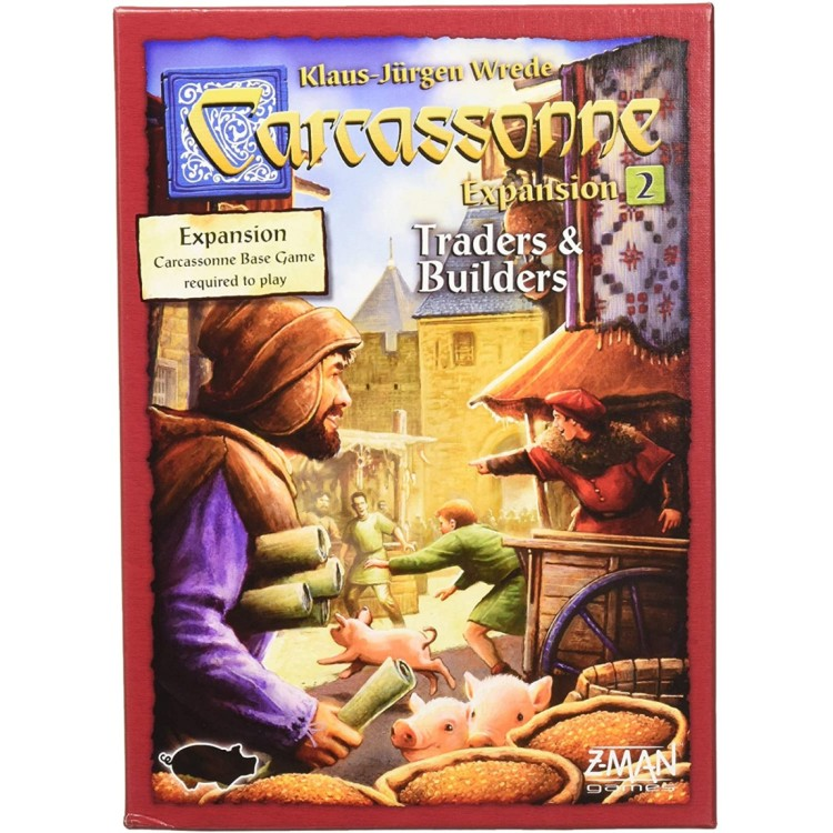 Carcassonne Board Game Expansion 2 - Traders & Builders