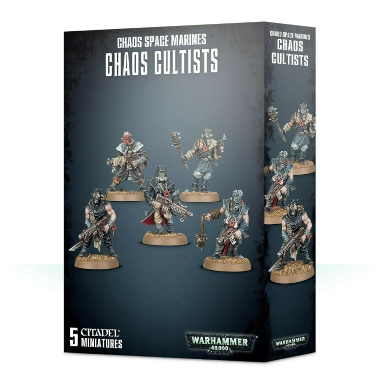 Chaos Space Marine - Chaos Cultists