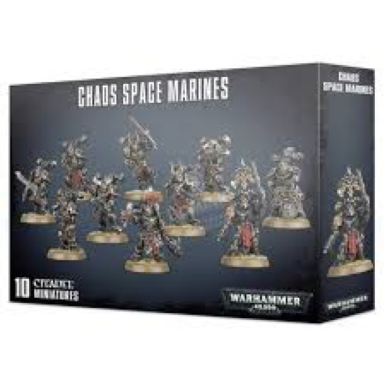 Chaos Space Marines 10 Man Squad
