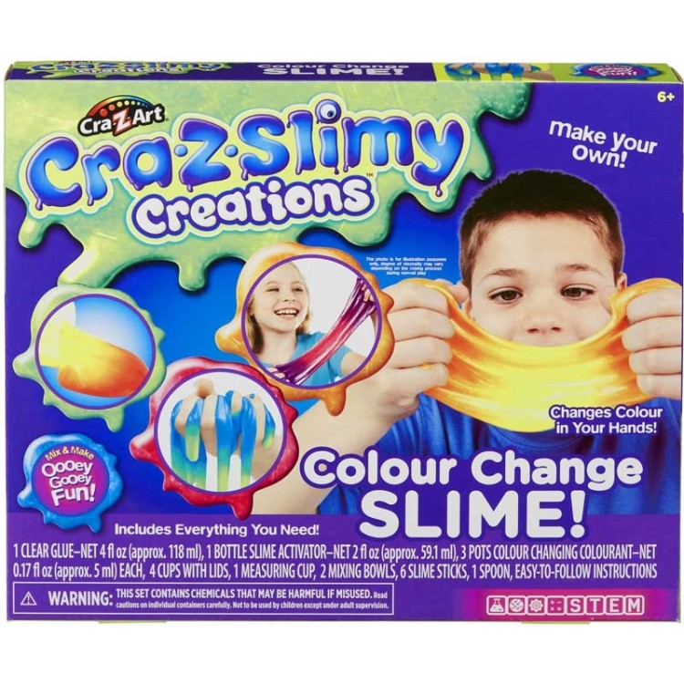 Cra-z-Slimy Creations Colour Change Slime!
