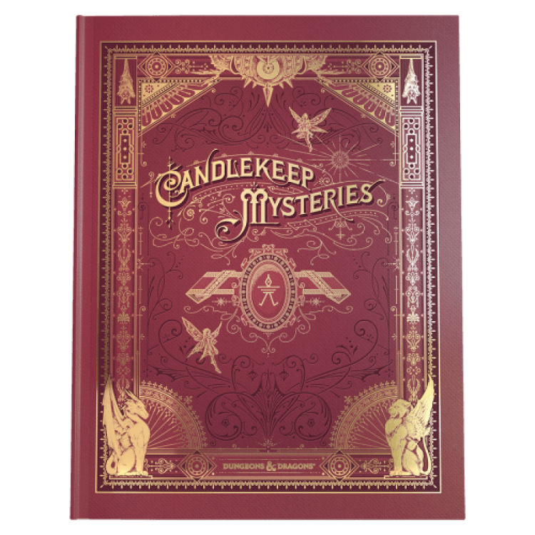 Dungeons & Dragons Candlekeep Mysteries Alternative Art Limited Edition Cover