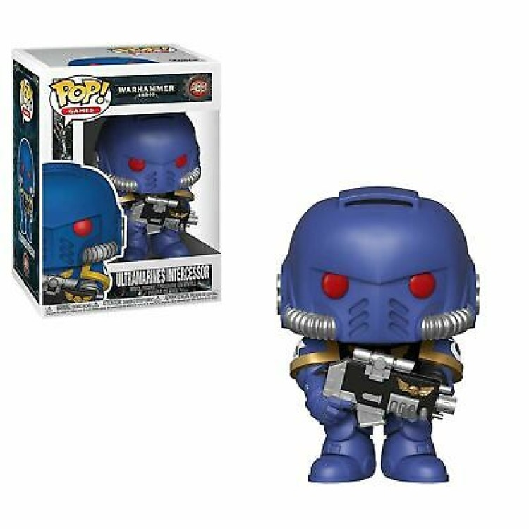 Funko POP! Warhammer 40K Ultramarine Intercessor Vinyl Figure 499