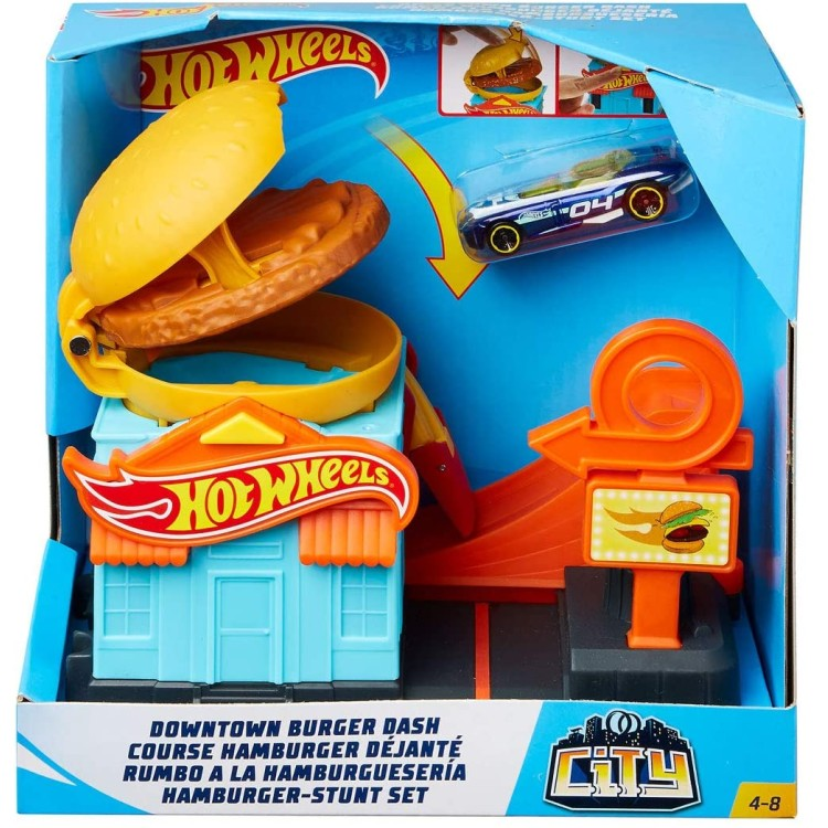 Hot Wheels Downtown Burger Dash