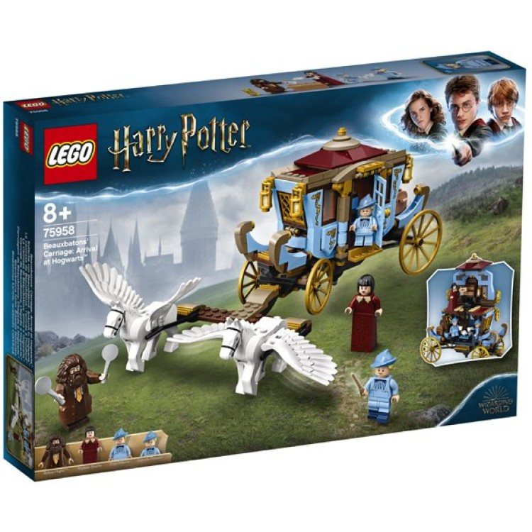 LEGO Harry Potter Beauxbatons' Carriage Arrival at Hogwarts 75958