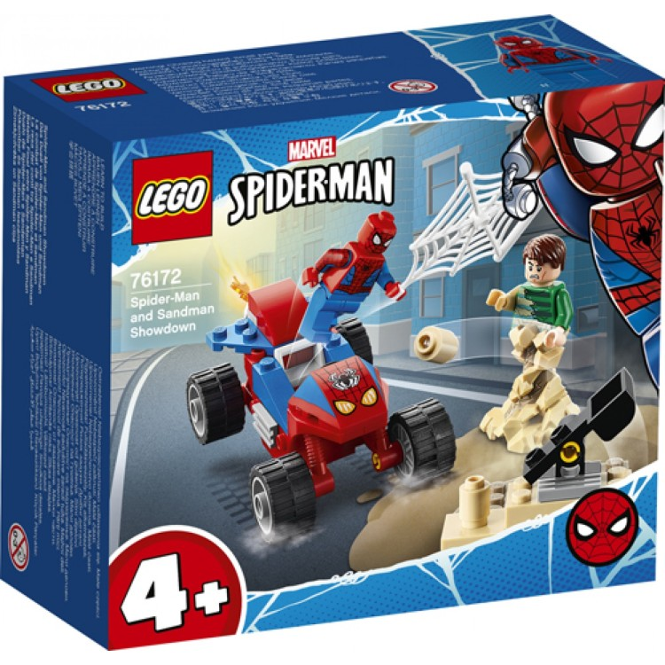 LEGO LEGO Super Heroes Spider-Man and Sandman Showdown 76172
