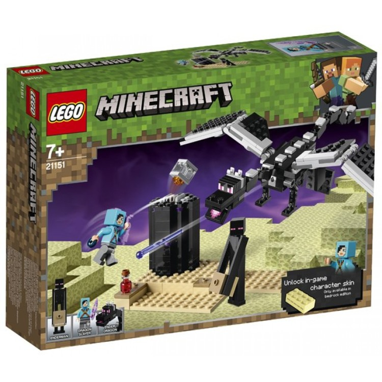 LEGO Minecraft - The End Battle 21151