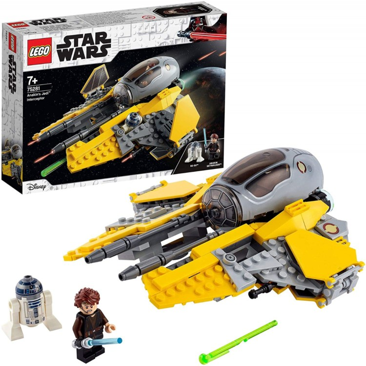 LEGO Star Wars - Anakin's Jedi Interceptor 75281