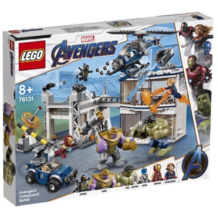 LEGO Super Heroes Marvel Avengers Compound Battle 76131