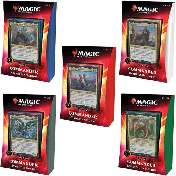 Magic The Gathering Ikoria Lair of Behemoths Commander Deck