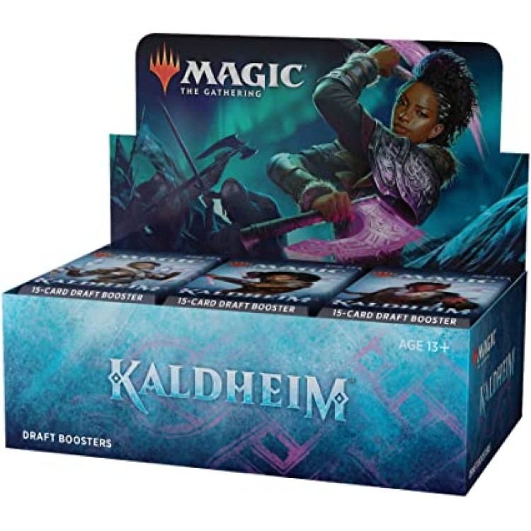 Magic The Gathering Kaldheim 36 Draft Booster Box
