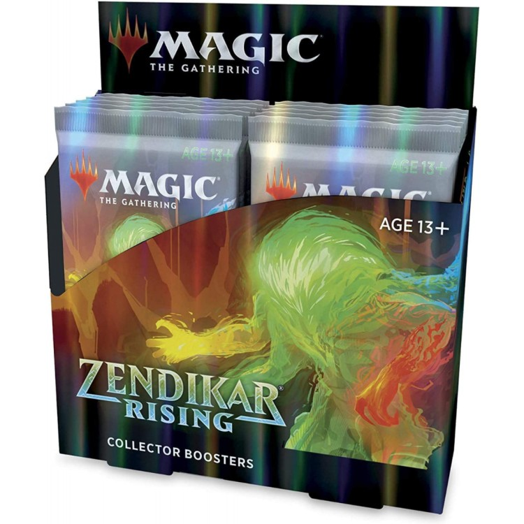 Magic the Gathering Zendikar Rising Sealed 12 Collectors Booster Box