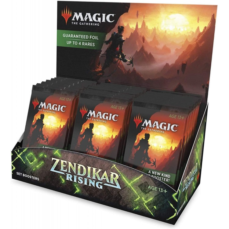 Magic the Gathering Zendikar Rising Sealed 30 Set Booster Box