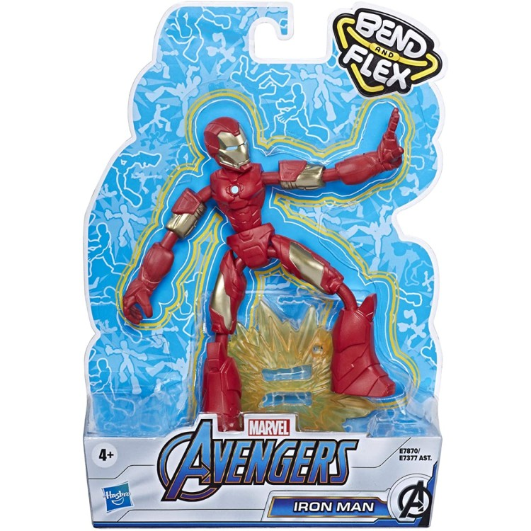 Marvel Avengers Bend and Flex Iron Man Action Figure