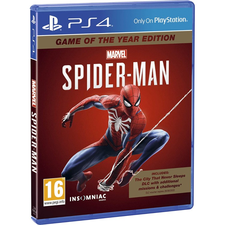 Marvel Spider-Man - Game of the Year Edition