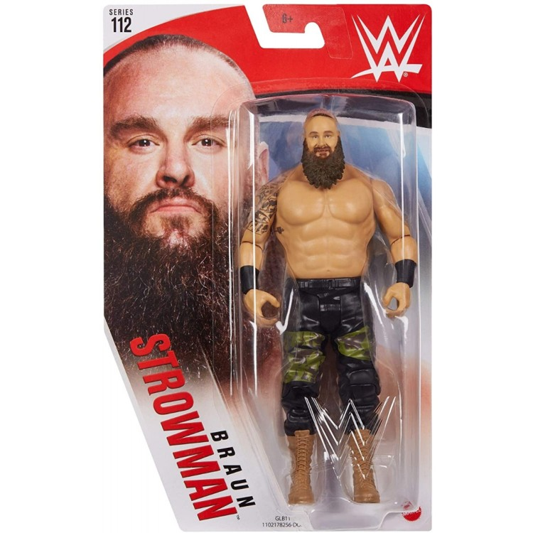 Mattel WWE Braun Stronwman Action Figure - Series 112 GLB11