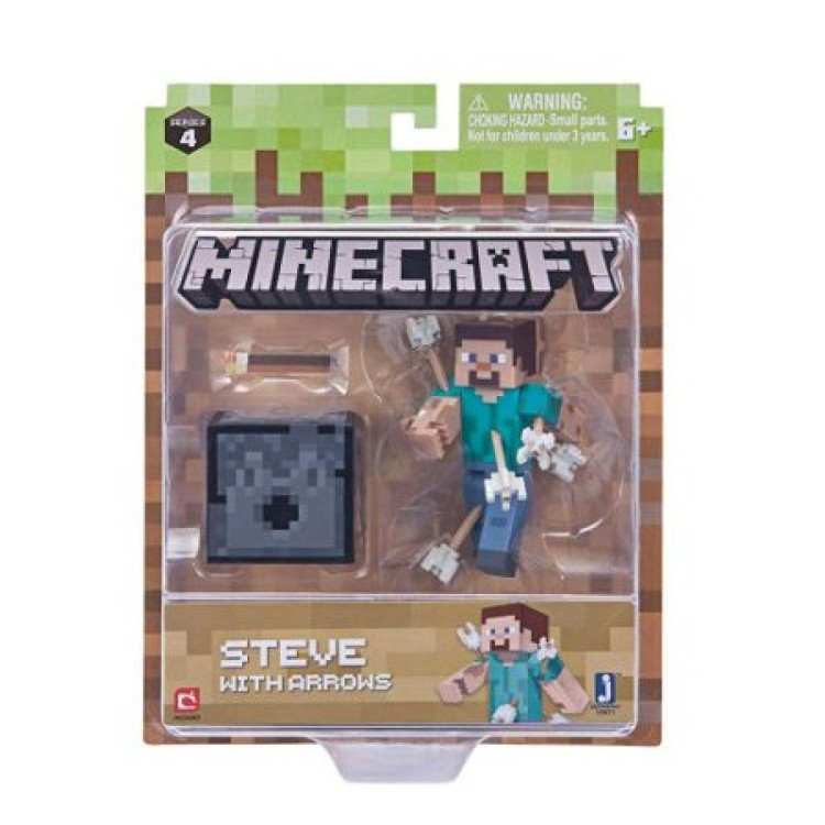 Minecraft Steve with Arrows Figure Pack Series 4