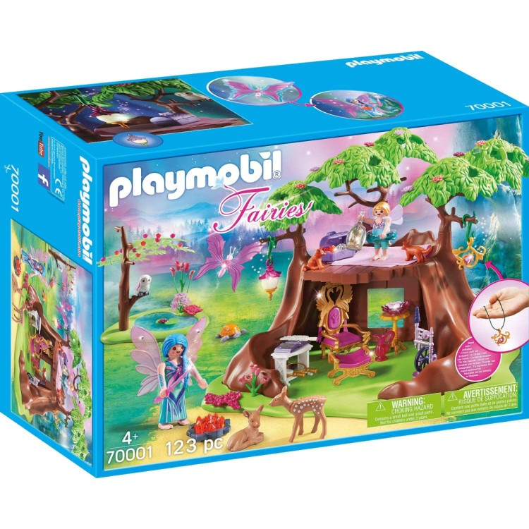 Playmobil Fairy Forest House - 70001