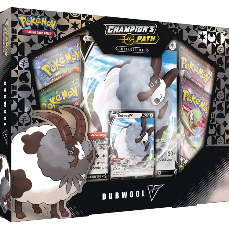 Pokemon Champion's Path Collection Dubwool V 2020