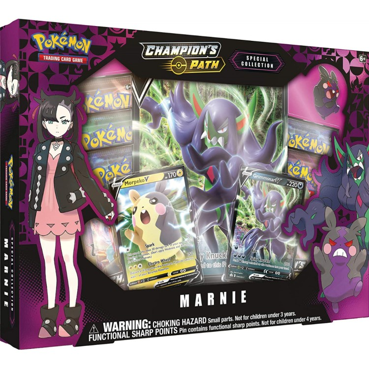 Pokemon Champion's Path Special Collection 2020 - Marnie