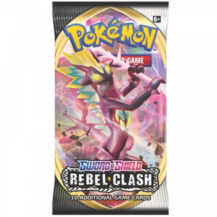 Pokemon TCG Sword & Shield Rebel Clash Booster