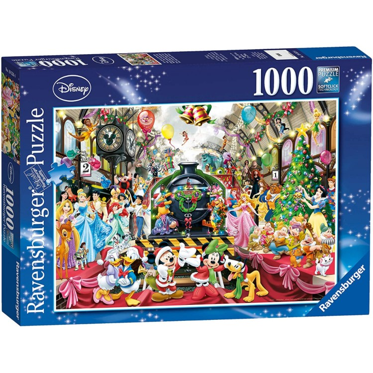 Ravensburger Disney All Aboard For Christmas 1000 Piece Jigsaw Puzzle