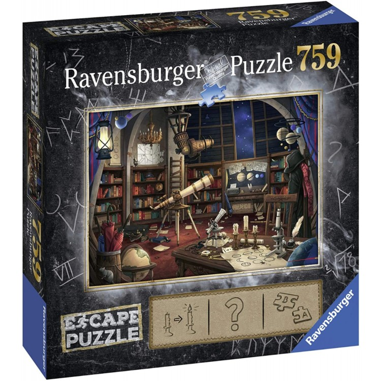 Ravensburger Escape Puzzle The Observatory 759 Piece Jigsaw Puzzle