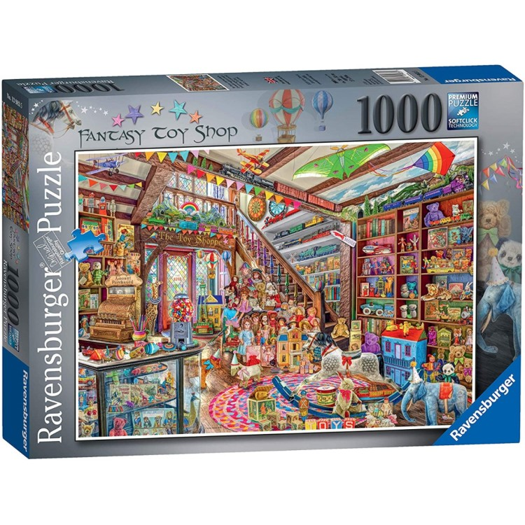 Ravensburger The Fantasy Toy Shop 1000 Piece Jigsaw Puzzle