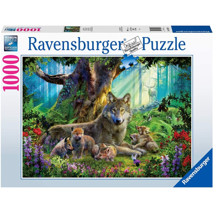 Ravensburger Wolves in the Forest 1000 Piece Jigsaw Puzzle