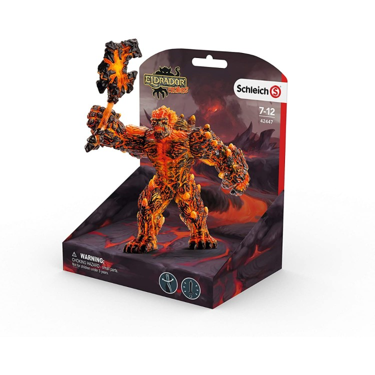 Schleich Eldrador Lava Golem with Weapon 42447