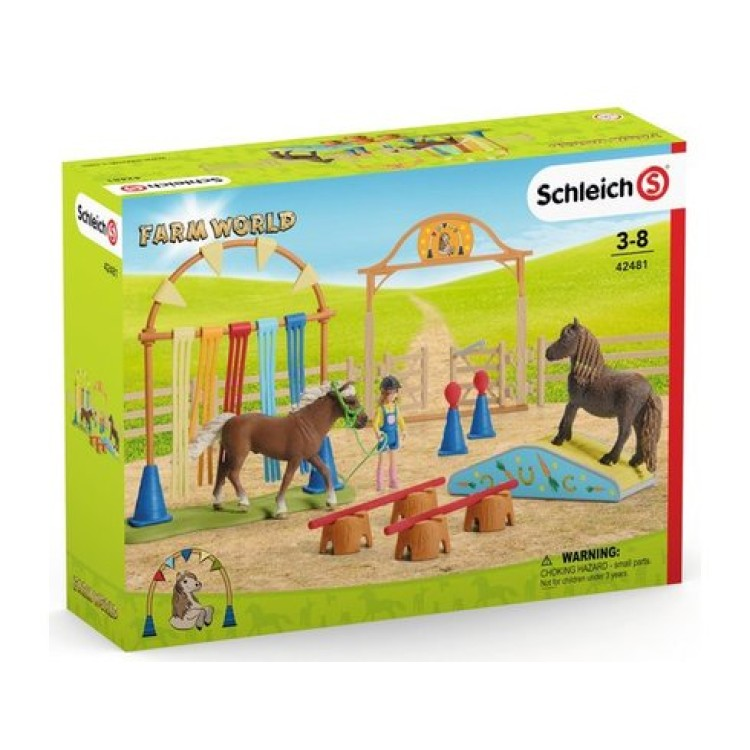 Schleich Farm World - Pony Agility Training 42481