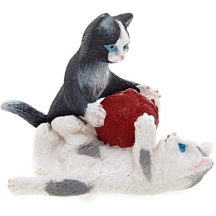 Schleich Kittens with Ball of Yarn 13724