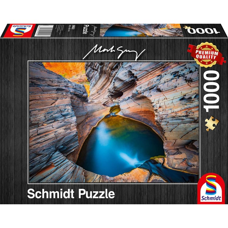 Schmidt Mark Gray: Indigo 1000 Piece Jigsaw 59922