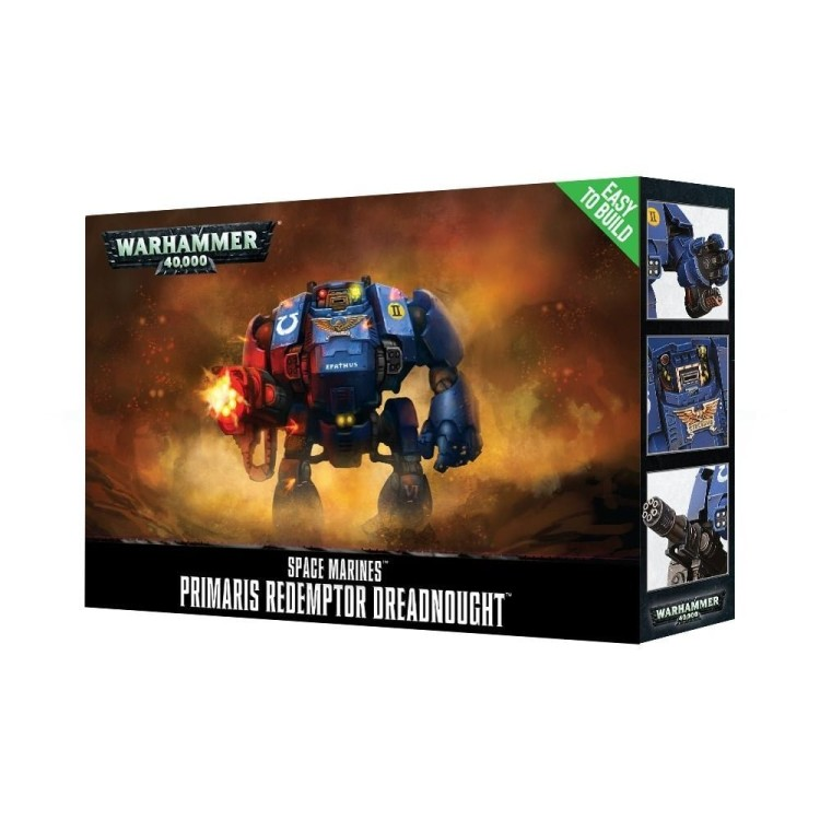 Space Marine Primaris Redemptor Dreadnought Easy To Build