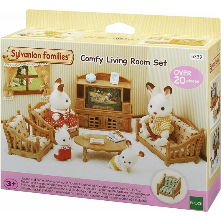 Sylvanian Families Comfy Living Room Set - 5339 - Game On ...